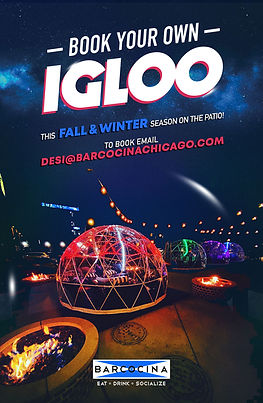 Barcocina - Book Your Own IGLOO2020 - 4x