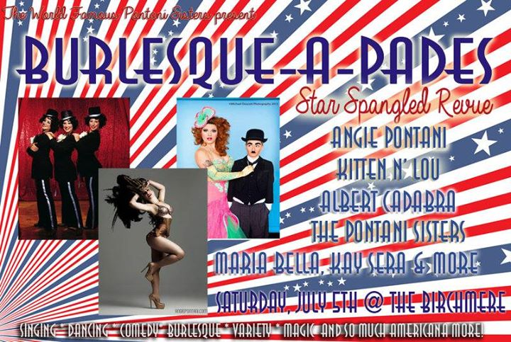 Angie Pontani's Burlesque-A-Pades at the Birchmere