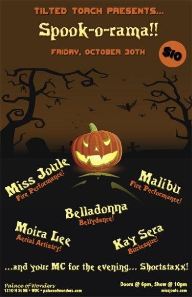 Kay Sera joins Tilted Torch for a Boo-tiful evening!
