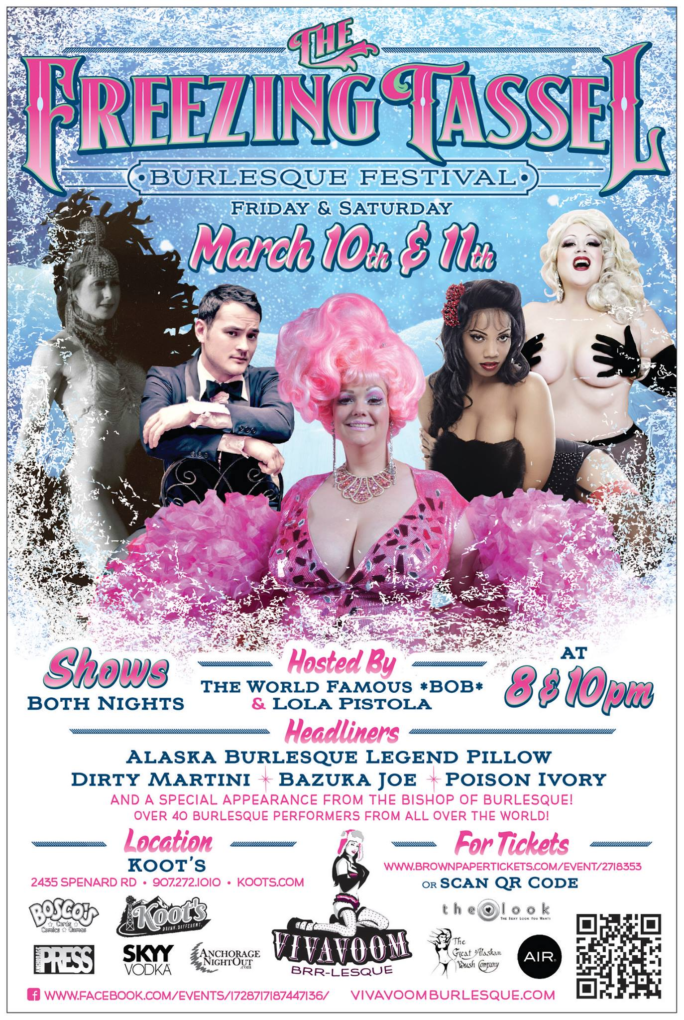 Freezing Tassel Burlesque Festival