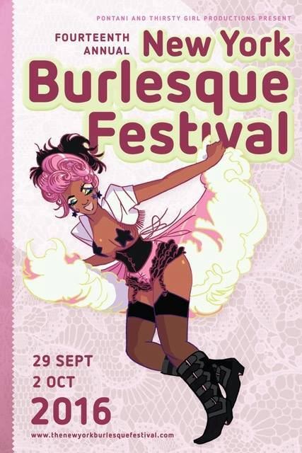 Kay Sera returns to the Big Apple for the New York Burlesque Festival, on stage September 29