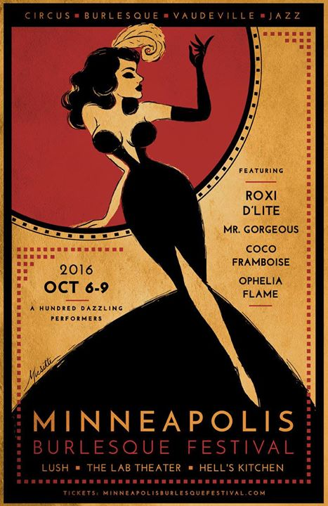 Kay Sera visits the Twin Cities you betcha for the Minneapolis Burlesque Festival!