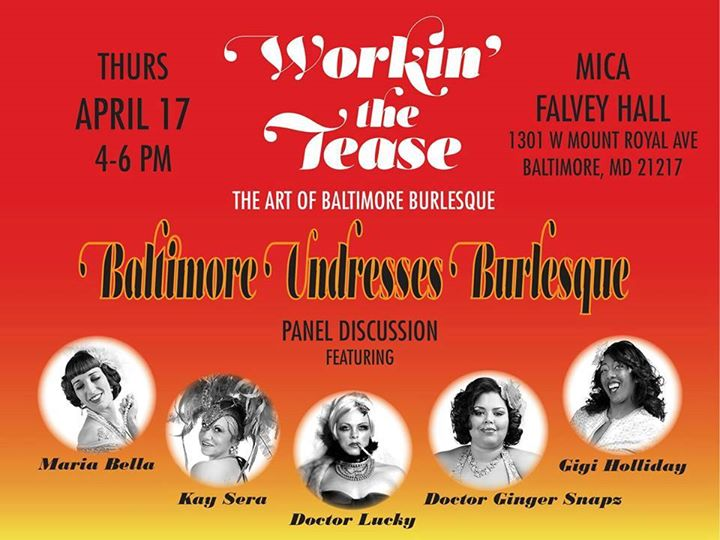 Join the conversation on the issues impacting contemporary burlesque
