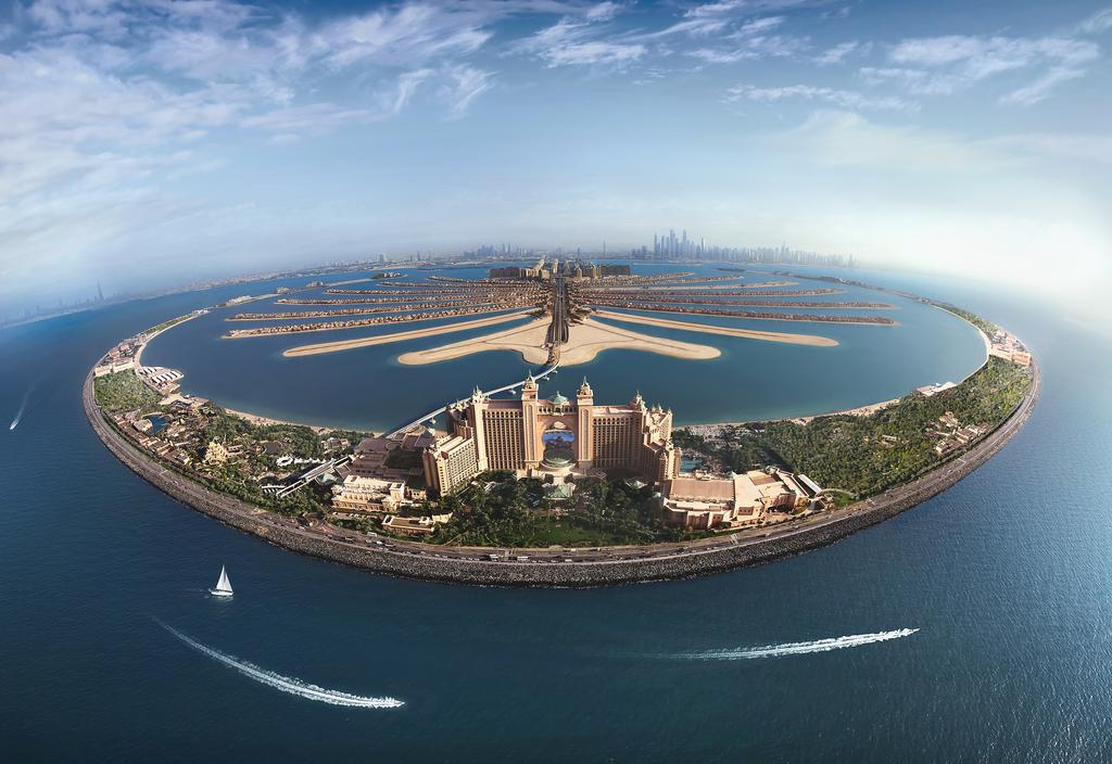 The Palm Jumeirah Island