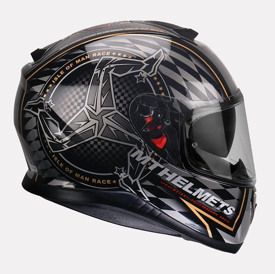 MT Thunder SV Isale of man HELMET