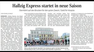 http://www.lvz.de/Region/Wurzen/Hallzig-Express-startet-in-neue-Saison