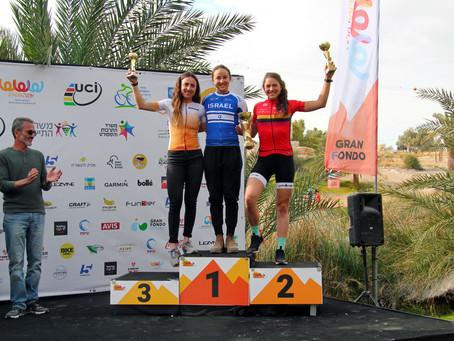🇮🇱 UCI- Rennen Tour of Arava mit Platz 2.