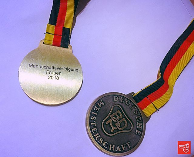 German Track Cycling Championships - 3.jpg Place to  Track cycling pursuit over 4000m.💥