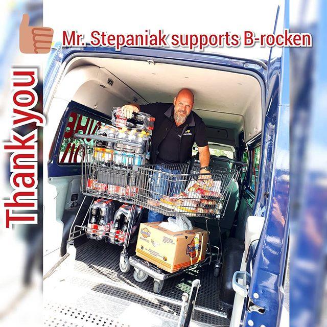 NO QUESTION - Mr. Jan Stepaniak supports Wheel Divas tomorows sharity tour