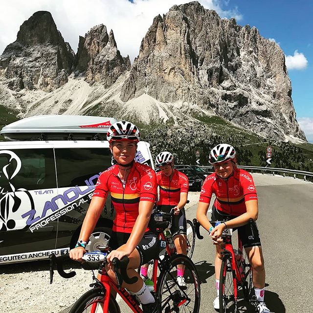 🚲🏆 3.  stages Sellaronda 🇮🇹 _girodelledolomiti on top 2245m. ,_Todays race goes about  155 km and 3275 height meters