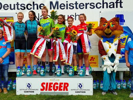 🇩🇪 Podium beim Bundesliga Paarzeitfahren der Juniorinnen in Genthin
