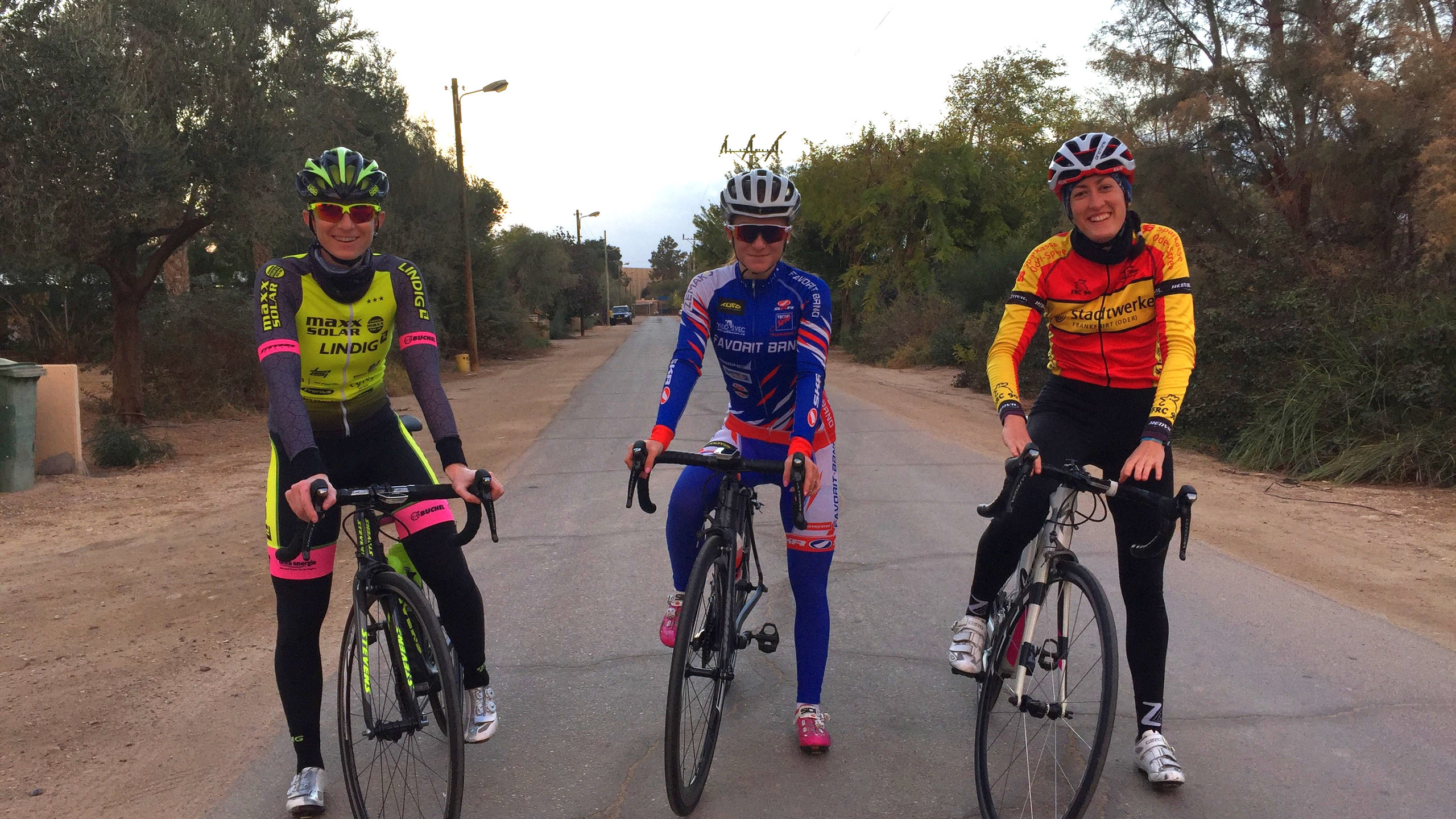 Trainingstour im Nahen Osten