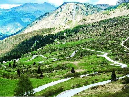 Giro delle Dolomiti - Vorbereitung, Einschreiben und Sightseeing
