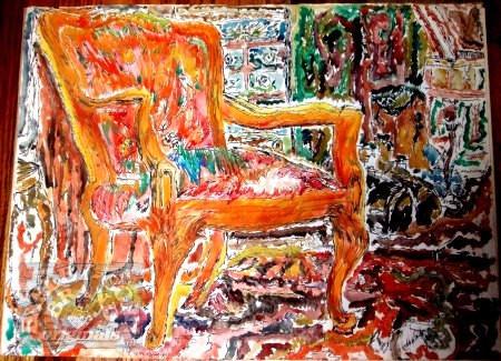 bc art the hot chair first original wate