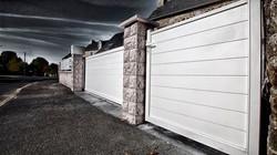 ensemble portail aluminium portillon et clôture