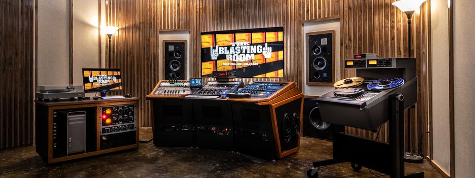 Blasting Room - Mastering Suite