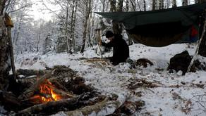 Scottish Winter Hammocking Trip