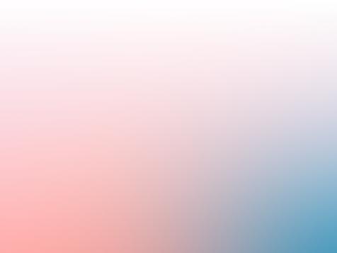 Gradient background. Pink, orange and blue.