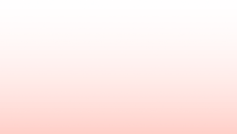 Transparent to coral pink gradient