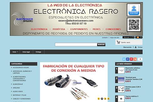 Original Website Electronica Rasero
