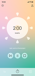 Breathe timer