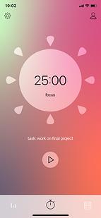 Focus timer