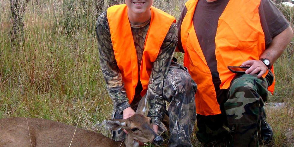 Flying Eagle Youth Hunt (Deer & Hog) Nov 12-14