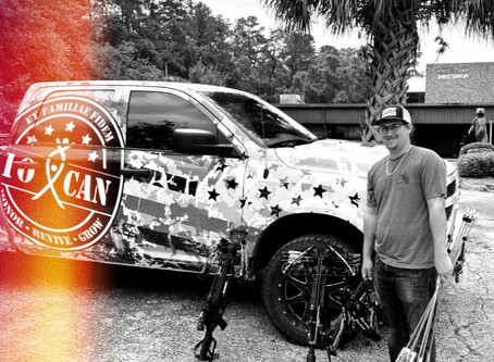 BEAR ARCHERY SPONSORS 10 CAN INC.'S MISSION OF OUTDOOR THERAPY FOR VETS AND FIRST RESPONDERS.
