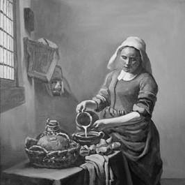 Copy of the Milkmaid by Vermeer