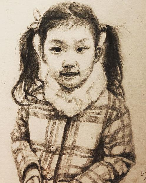 Yena 5yrs pencil portrait.jpg