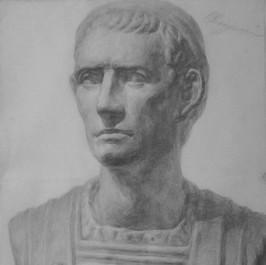 Dessin of Julius Caesar