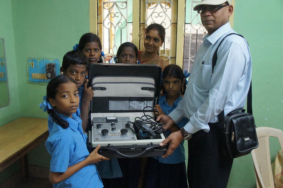 b Children in Hope donated Speech traine