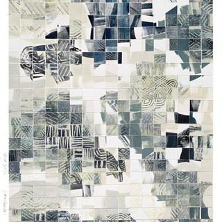 """Sutton Corridor 40 x 30"""" Oil on Paper"""