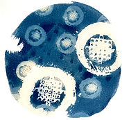 Camas_1_Cyanotype_on_Paper_7x7_Laurey_Be