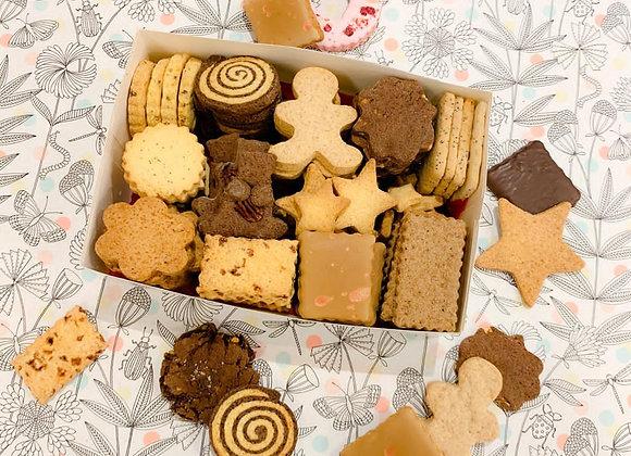 Assortiment de biscuits au poids