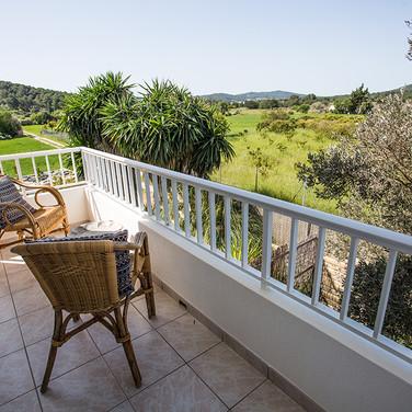 Balcony views over nature