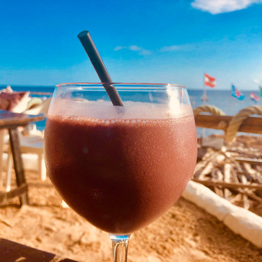 Smoothie on the beach?