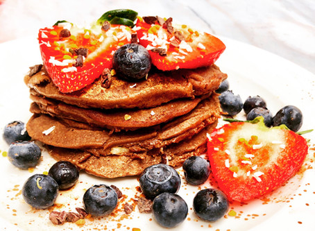 yummy Protein pancakes