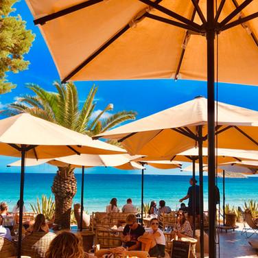 Ibiza beach bar vibes