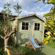 Beautiful cabin in the garden