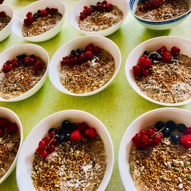 smoothie bowls!
