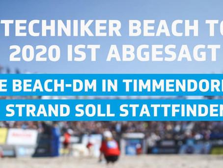 Die Techniker Beach Tour 2020 wurde heute abgesagt!
