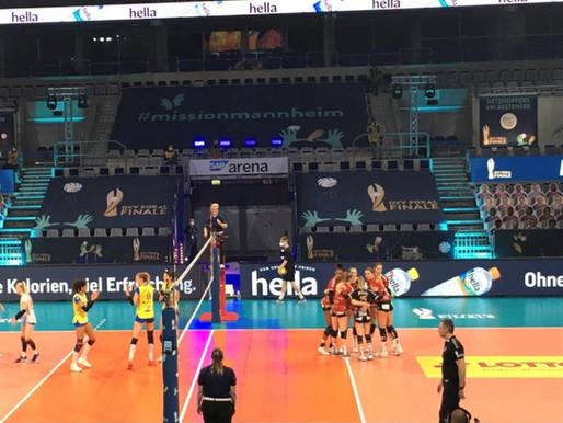 hella war Partner des DVV Pokal Finals