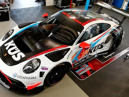 Jannes Fittjes GT3R frisch mit neuem sportlichen Design