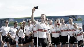 Zwei Weltmeistertitel für den Deutschen Ruderverband
