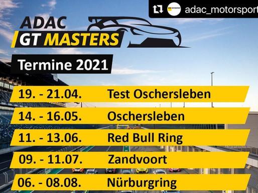 ADAC GT Masters Rennkalender 2021