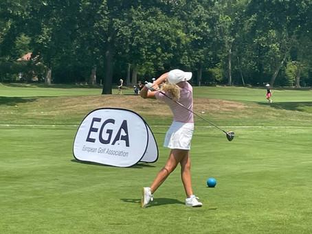 Viktoria und Hannah bei der European Ladies Amateur Championship gestartet