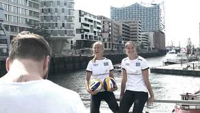 Shooting mit #teamhannahlena in der HafenCity