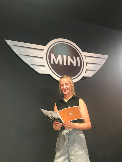 BREEZE SPORTS und Lena bei der MINI Shopping Night