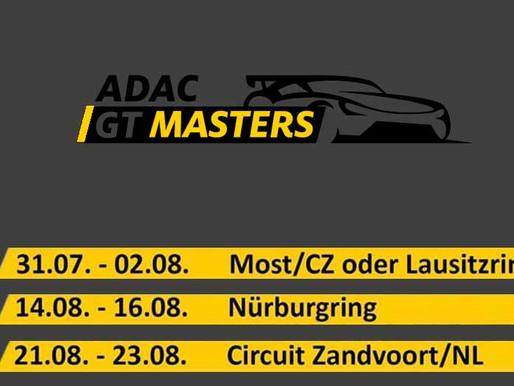 Neue Termine des ADAC GT Masters veröffentlicht